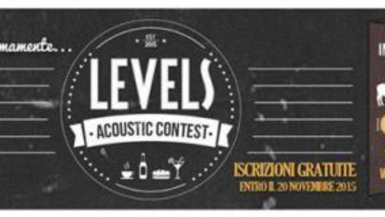 Levels acoustic contest