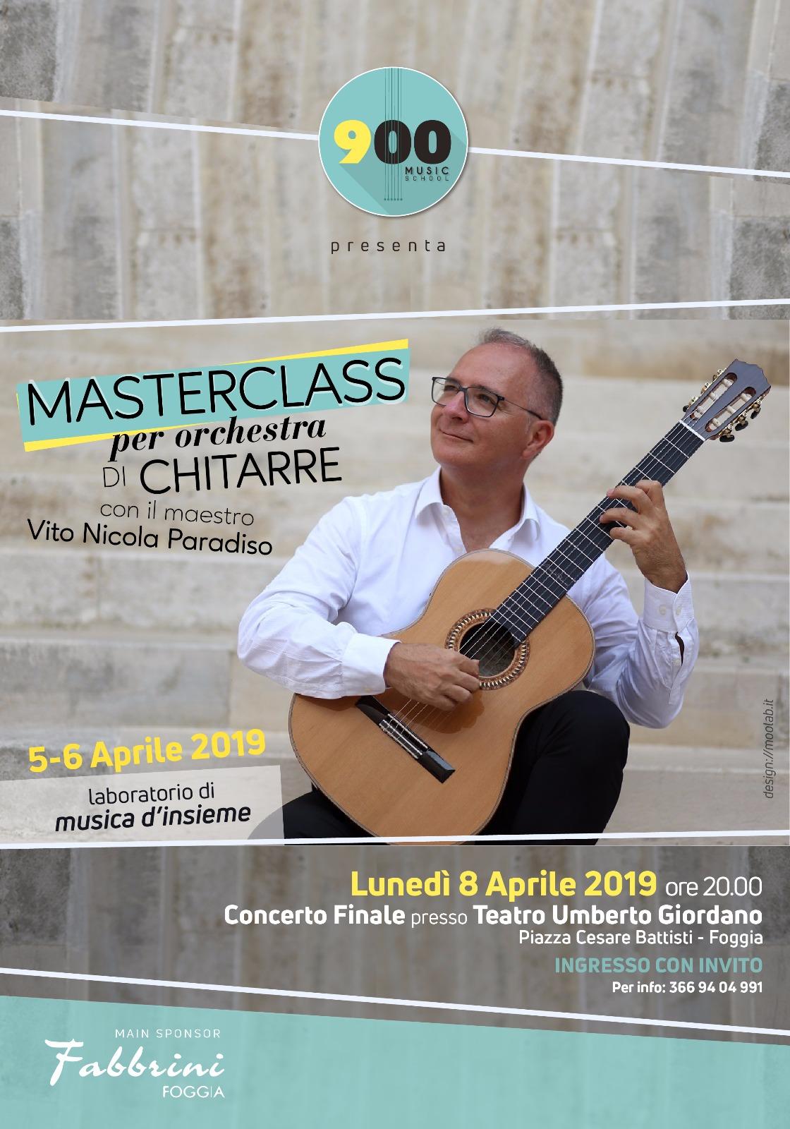 Orchestra di chitarre al Teatro Giordano
