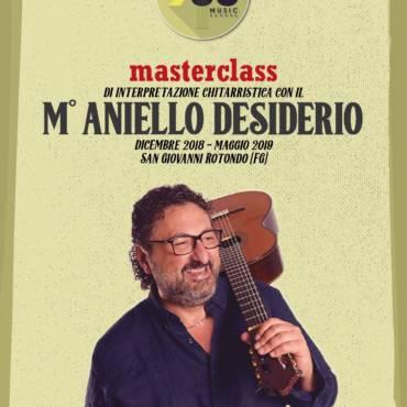Masterclass annuale con il M° Aniello Desiderio